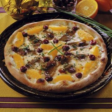 pizza landaise recette pizza magret de canard p te pizza. Black Bedroom Furniture Sets. Home Design Ideas